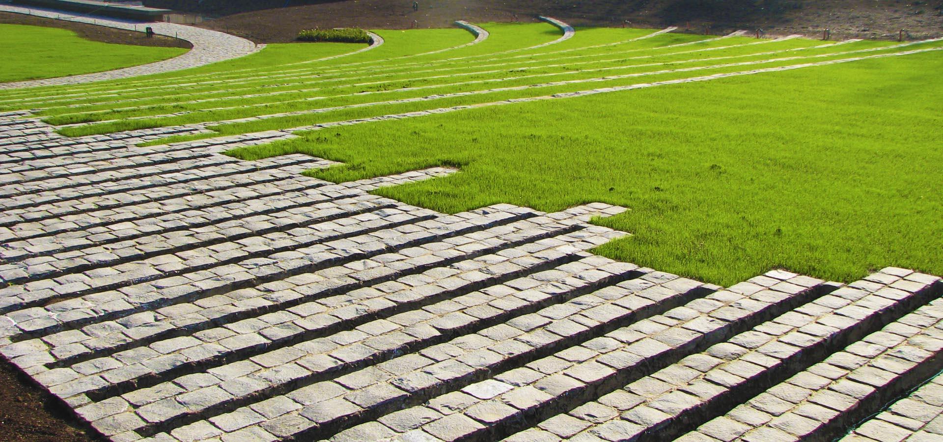 Precio adoquines de piedra good adoquines de piedra with for Adoquines para jardin precio